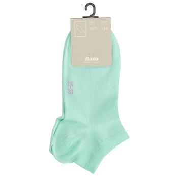 Dámské kotníkové ponožky bata, 919-7876 - 13