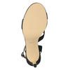 Dámské společenské sandály s kamínky bata, černá, 729-6611 - 17