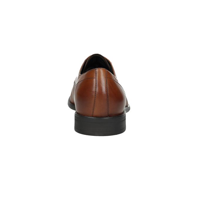 Kožené pánské polobotky vagabond, hnědá, 824-3026 - 15