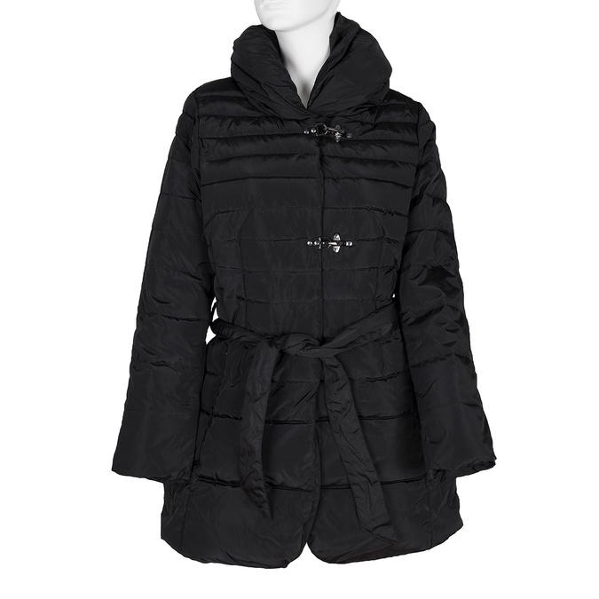 Dámský prošívaný kabát bata, černá, 979-6164 - 13
