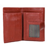 Kožená dámská peněženka bata, červená, 944-5189 - 15