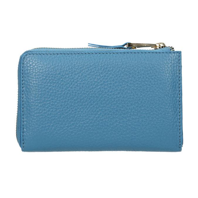 Modrá kožená peněženka bata, modrá, 946-9284 - 16