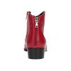 Červená kotníčková obuv bata, červená, 594-5665 - 15