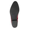 Červená kotníčková obuv bata, červená, 594-5665 - 19