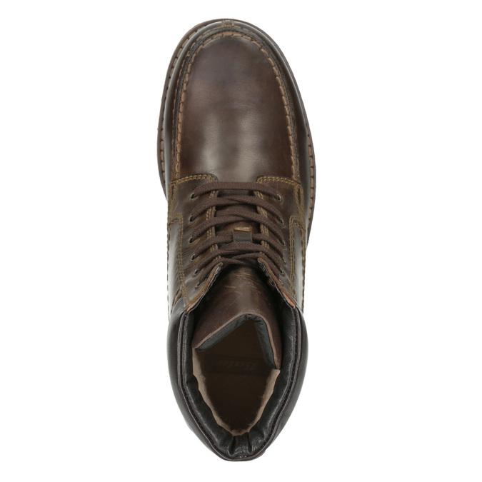 Pánská kotníčková obuv bata, hnědá, 896-4640 - 15