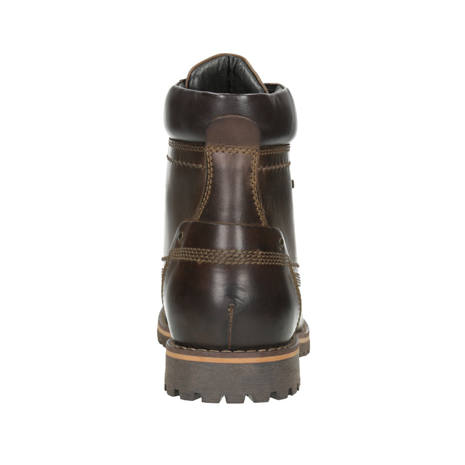 Pánská kotníčková obuv bata, hnědá, 896-4640 - 16