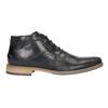 Kotníčková pánská obuv bata, černá, 826-6926 - 26