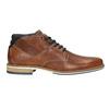 Pánská kožená kotníčková obuv bata, hnědá, 826-3925 - 26