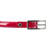 Červený lakovaný opasek bata, červená, 951-5603 - 26
