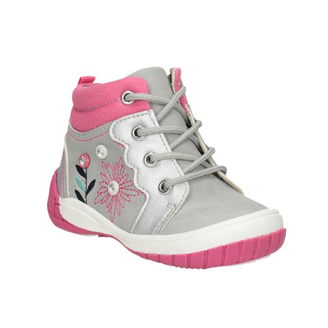 Bubblegummers Kotníčková dětská obuv s výšivkou - Kotníková obuv ... 977772372bf