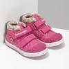 Růžové dětské kotníčkové tenisky s květinami bubblegummers, 121-5618 - 26