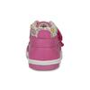 Růžové dětské kotníčkové tenisky s květinami bubblegummers, 121-5618 - 15
