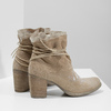 Kotníčkové kozačky s výšivkou a kamínky bata, 696-2655 - 16