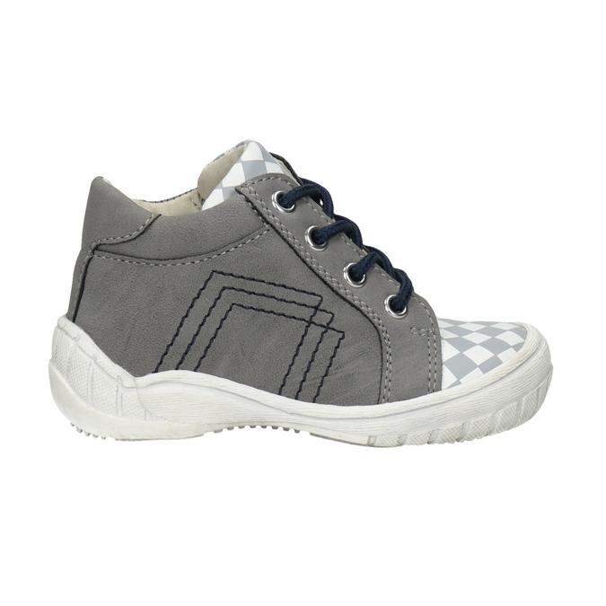 Dětská kotníčková obuv bubblegummers, šedá, 111-2626 - 26