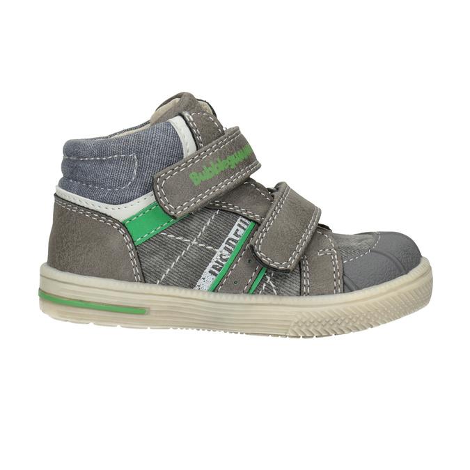 Kotníčková dětská obuv bubblegummers, šedá, 111-2614 - 26