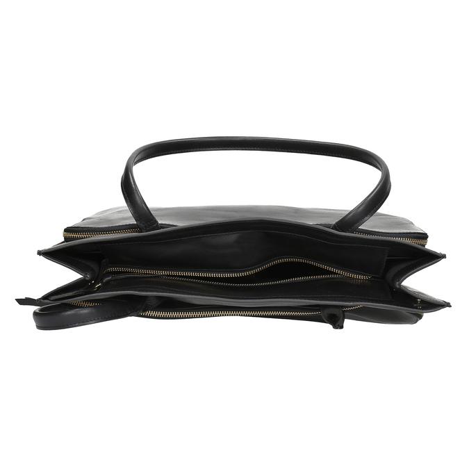 Kožená kabelka dámská royal-republiq, černá, 964-6066 - 15
