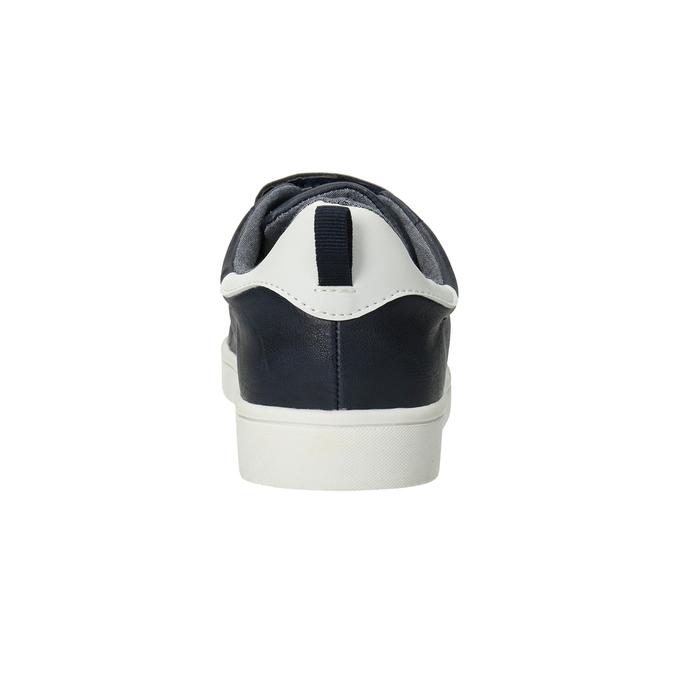 Ležérní dětské tenisky na suché zipy mini-b, 411-9609 - 16