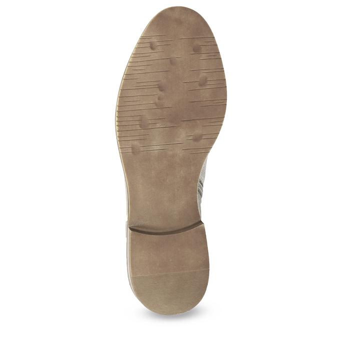 Kotníčkové dámské kozačky bata, šedá, 596-2685 - 18