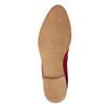 Kožená kotníčková obuv červená bata, červená, 593-5611 - 17