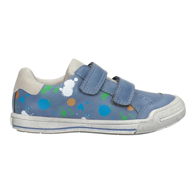 Modré tenisky s potiskem mini-b, 211-9218 - 26