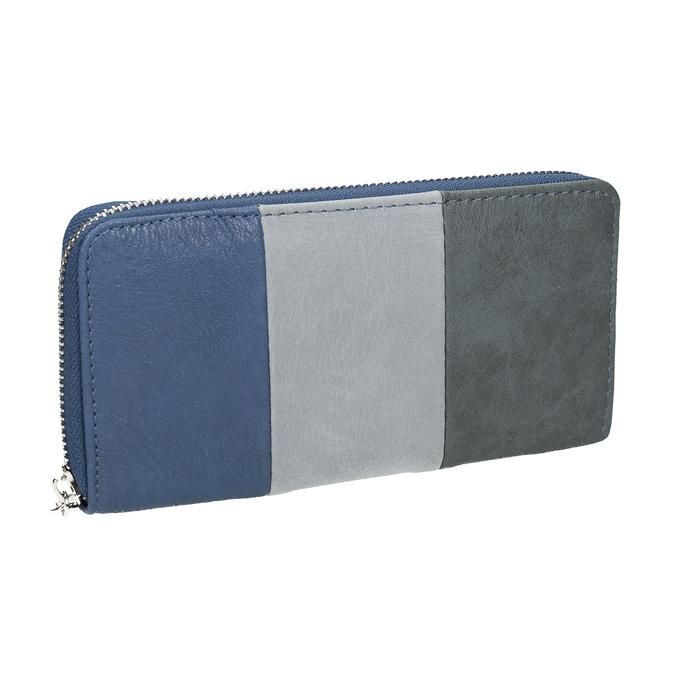 Dámská peněženka na zip bata, modrá, 941-9216 - 13