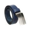 Modrý kožený opasek pánský bata, 954-9208 - 13