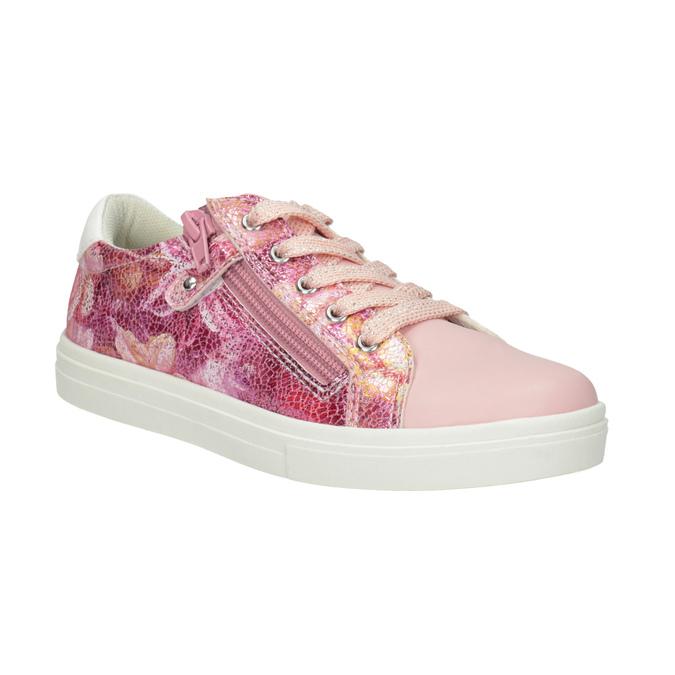 Dívčí růžové tenisky se zipem mini-b, 321-5219 - 13