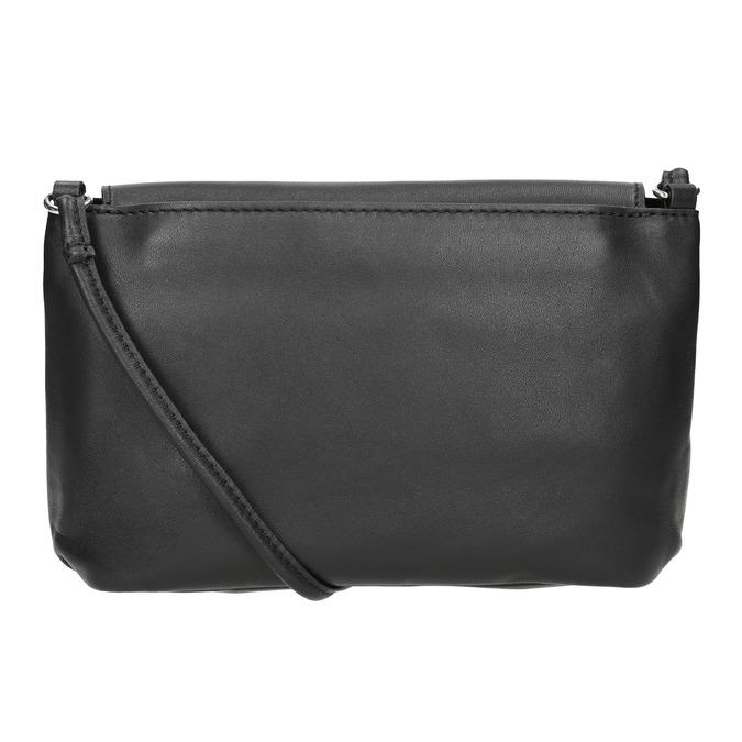 Kožená dámská Crossbody kabelka bata, černá, 964-6291 - 16