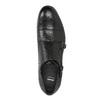 Černé kožené Monk Shoes bata, černá, 824-6730 - 17