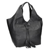 Kožená dámská kabelka se střapci bata, černá, 964-6294 - 13