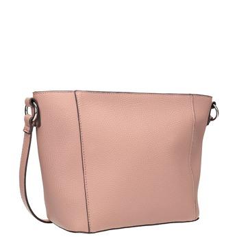 Dámská kabelka s prošíváním bata, růžová, 961-5842 - 13