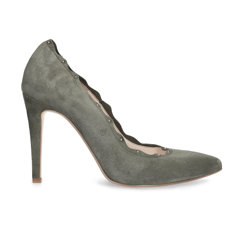 82e7bc7d753 Insolia Kožené dámské lodičky s kamínky - Všechny boty