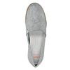 Stříbrné kožené Slip-on boty flexible, 536-1604 - 17