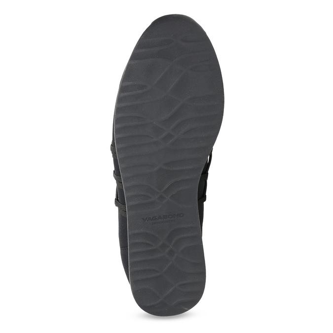 Slip-on tenisky s gumičkami vagabond, černá, 619-6132 - 18