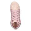 Růžové kotníčkové tenisky s kamínky mini-b, růžová, 229-5107 - 17