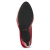 Červené lodičky z lakované kůže insolia, červená, 728-5104 - 18