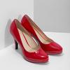 Červené lodičky z lakované kůže insolia, červená, 728-5104 - 26