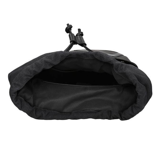 Unisex batoh s přezkami atletico, černá, 969-6678 - 15