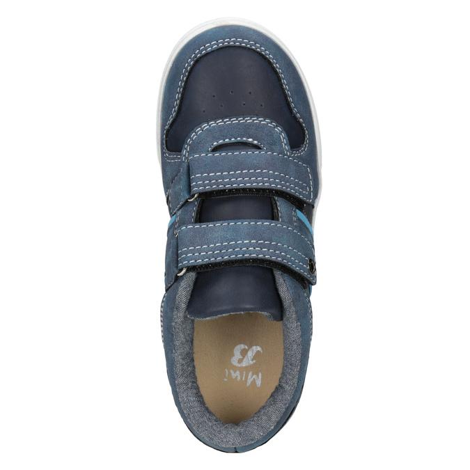 Modré dětské tenisky mini-b, 411-9101 - 15