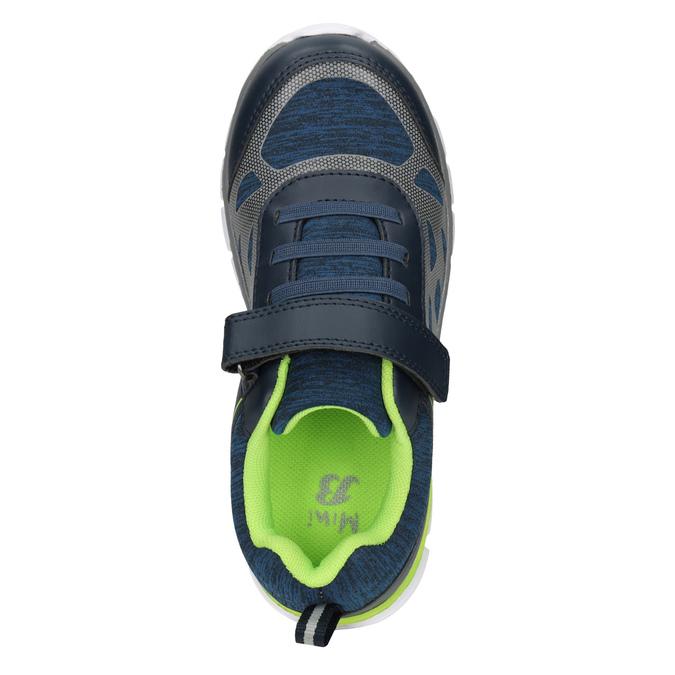 Sportovní dětské tenisky mini-b, modrá, 319-9148 - 15