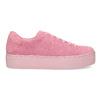 Růžové kožené tenisky na flatformě vagabond, růžová, 623-5050 - 19