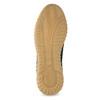 Pánské tenisky z broušené kůže modré bata, 843-9634 - 18