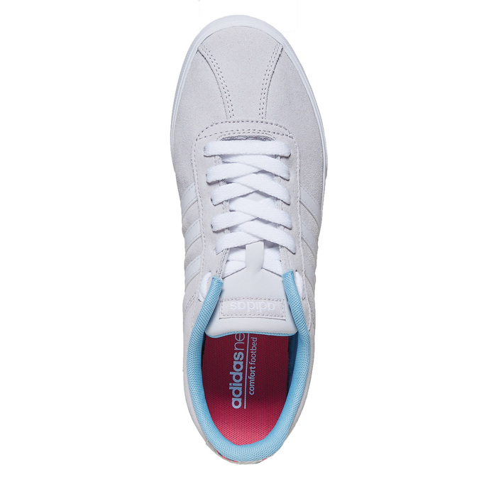 Dámské šedé tenisky adidas, šedá, 501-2229 - 19