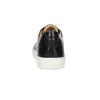 Pánské kožené tenisky bata, černá, 844-6648 - 15
