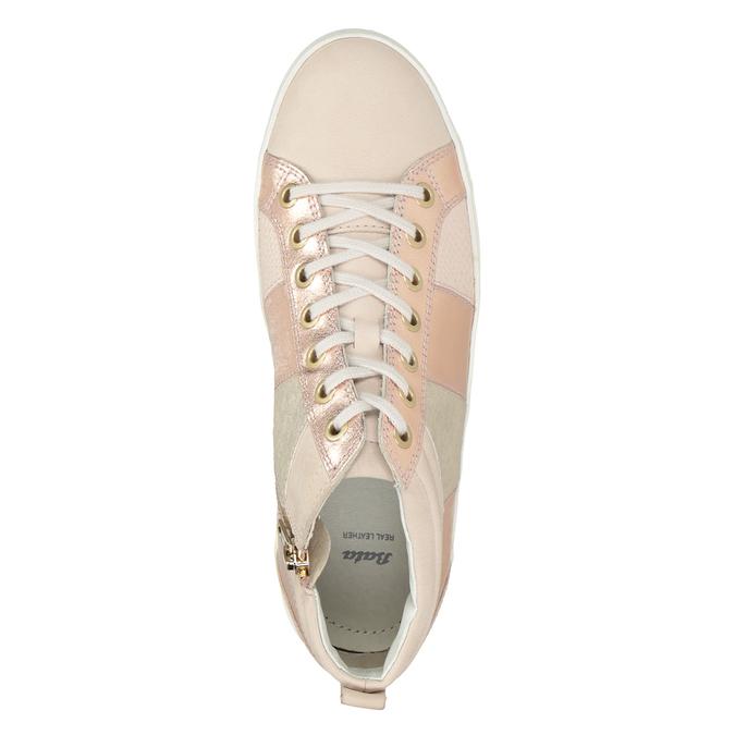Dámské kotníčkové tenisky bata, růžová, 546-5608 - 15