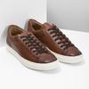 Kožené pánské tenisky bata, hnědá, 846-4648 - 26