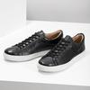 Pánské kožené tenisky bata, černá, 844-6648 - 16