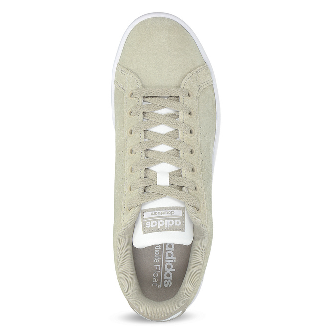 Béžové pánské tenisky z broušené kůže adidas, béžová, 803-8394 - 17