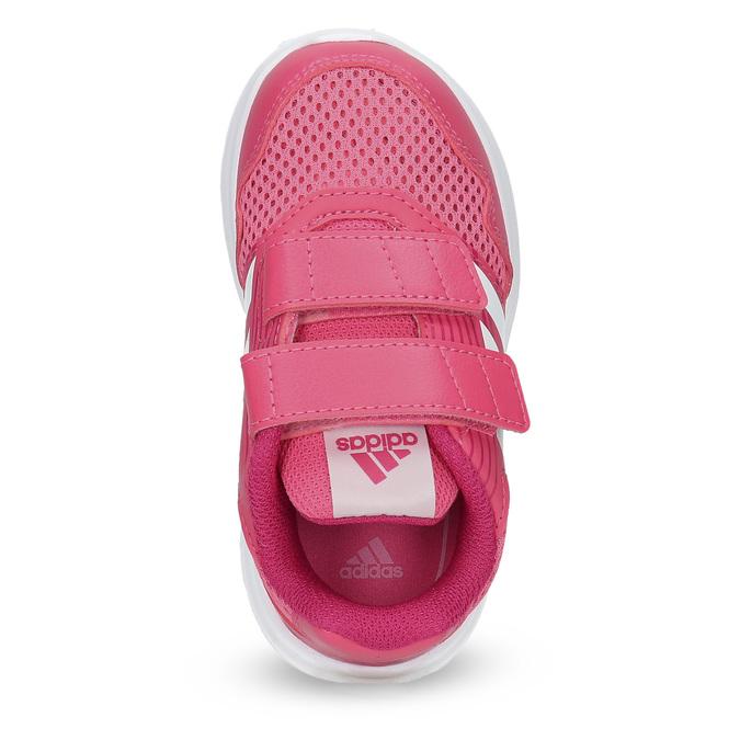Růžové dětské tenisky adidas, růžová, 109-5147 - 17
