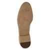 Oxford polobotky z broušené kůže vagabond, béžová, 823-8015 - 18